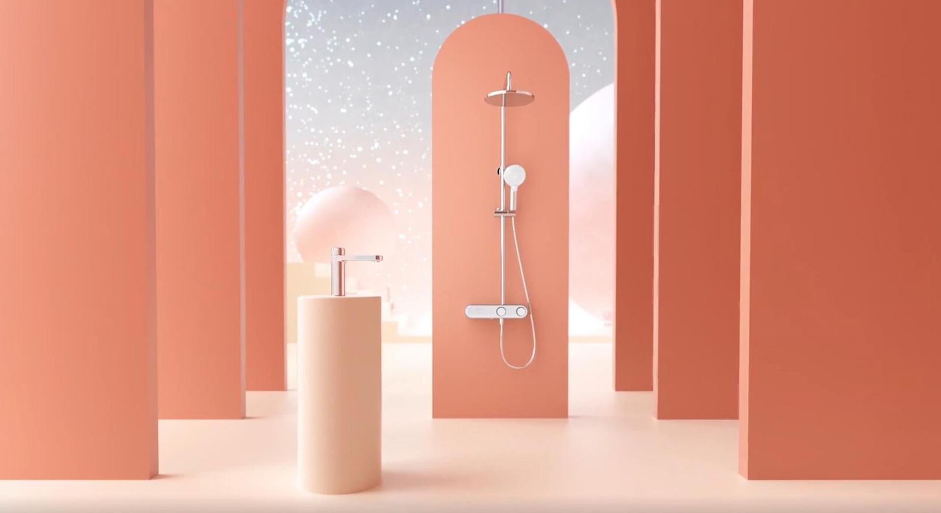 大白®Future-O龙头花洒套装   产品宣传片