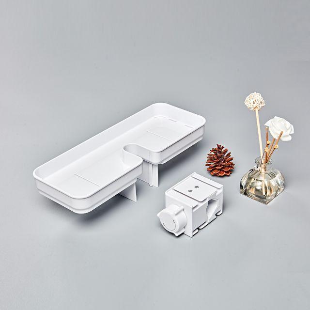 大白小方盒易装置物架